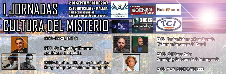 I JORNADAS CULTURA DEL MISTERIO - 2 Sep 2017 - Málaga -