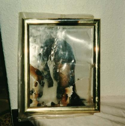 Estefania Gutiérrez caso Vallecas Foto quemada