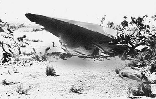 Recreación del incidente Roswell