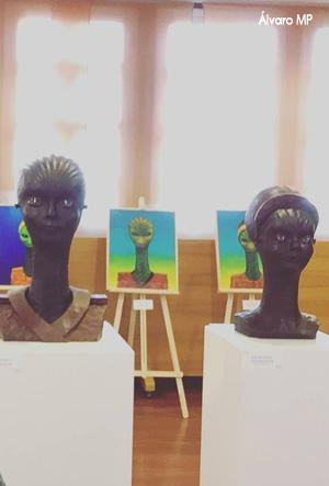 """Impresionante representación escultórica de los """"seres"""""""