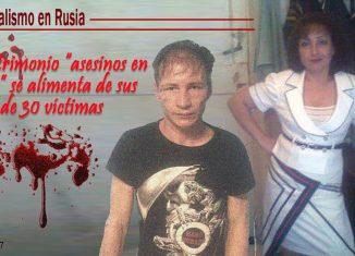 La parejade caníbales rusos vendió carne humana a varios restaurantes cercanos Natalia Baksheeva y Dmitry Baksheev confesaron que matarona unas 30 personas, con cuya carne hacían pasteles