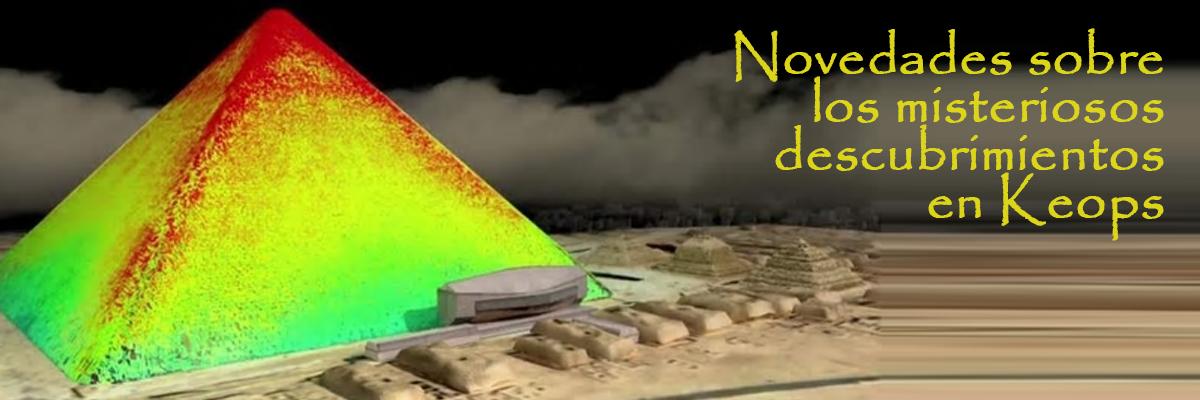 Ángel Gutiérrez nos ofrece algunas novedades sobre los hallazgos de nuevas cámaras secretas en la pirámide de Keops.