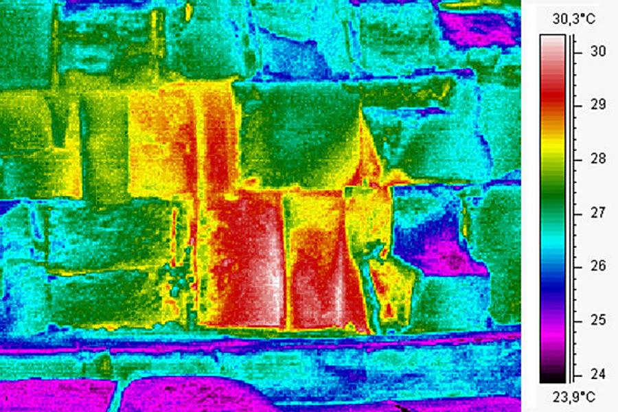Una firma única del calor en la cara este de la Gran Pirámide de Giza podría contener secretos del ancestral edificio.