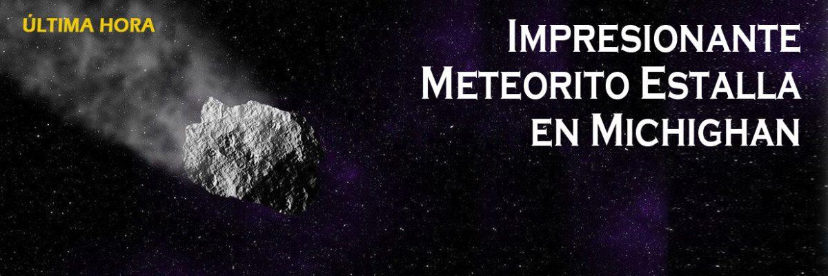 Cae un meteorito en el oeste de EEUU y provoca un temblor de intensidad 2