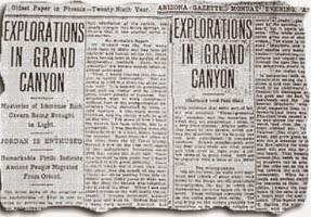 Una tumba egipcia en el Gran Cañón similar al Valle de los Reyes en Luxor, Egipto Un artículo publicado en la primera página de la Gaceta Phoenix el 5 de abril de 1909, afirmó que se encontró sólo una cueva egipcia excavada en la roca!