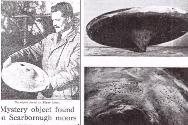 Tres hombres descubrieron originalmente el objeto en el páramo, informó el Yorkshire Post el 8 de febrero, solo tres semanas después de que Rusia lanzara el Sputnik, el primer satélite de la Tierra creado por humanos.