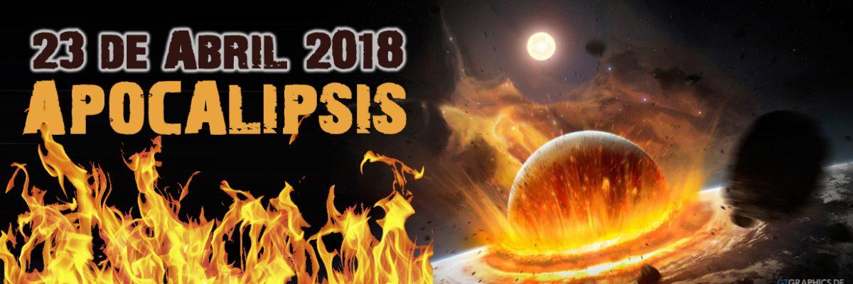 """una nueva predicción para el fin del mundo establece la fecha del Apocalipsis para el lunes 23 de abril, basada en una mezcolanza de la numerología antigua, relecturas del Libro bíblico del Apocalipsis y teorías de conspiración sobre el llamado """"Planeta X"""""""