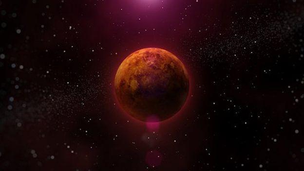 """hace millones de años, cuando la vida en la Tierra todavía estaba germinando, probablemente Venus era muy distinta a como es hoy. """"Es posible que ambos planetas tuvieran océanos de agua líquida [...] y moléculas orgánicas sometidas a la evolución química en esos océanos"""" añade David Grinspoon, del Instituto de Ciencias Planetarias de Tucson, Arizona."""