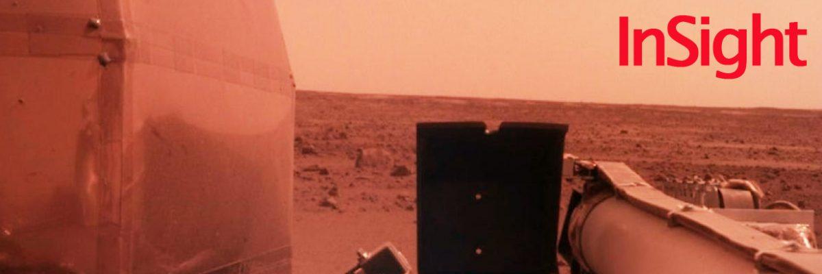 InSight aterrizó con éxito en Marte | Las primeras fotos que envió el robot | VIDEO