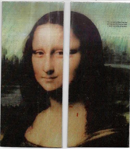 La Gioconda o Mona Lisa es uno de los retratos más emblemáticos de la historia de la pintura. Pintado por Leonardo Da Vinci en el siglo XVI, entró a las colecciones de la corte de Francia para finalmente formar parte de las obras de Arte exhibidas en el Museo del Louvre.