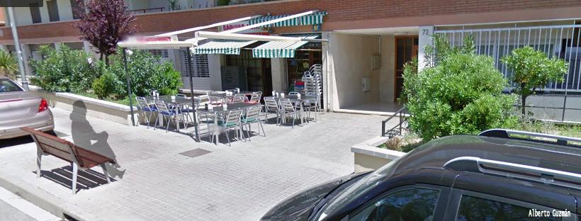 Número 72 de la calle Doedes en la localidad barcelonesa de Arenys de Mar. (Foto A. Guzmán)
