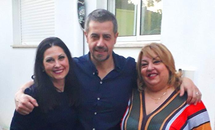 Inma Argüelles, Carlos Dueñas y Noly Encinas.