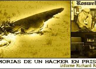 Hablaremos de las memorias de @Richard E. Romero, los recuerdos de un hacker que permaneció en prisión durante más de 20 años, porque durante el trabajo de espionaje informático encargado por un enigmático personaje, accedió, por mera curiosidad, a unos archivos relacionados con el fenómeno OVNI que desvelaron, entre otros misterios, las piezas del puzle que faltaban para confirmar que algo no terrestre y tripulado, se estrelló en Nuevo México. Posiblemente a tí, la historia te resultará increíble... a mí, apasionante.
