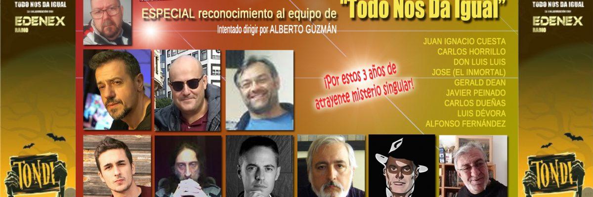 En el programa especial, Carlos Dueñas nos presenta también la cuarta temporada y nos invita a conocer, en primicia, su próximo proyecto literario y largometraje.