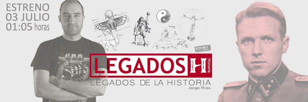 """""""El Doctor Muerte"""" en """"Legados de la Historia"""" de manos del escritor Daniel Ortega del Pozo."""