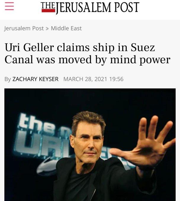En marzo de 2021, propuso la unión de las mentes de sus seguidores de todo el mundo con un solo fin: mover el barco encallado en el Canal de Suez. ¿Lo consiguió?
