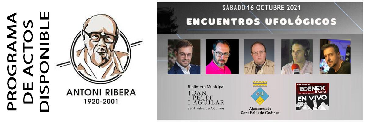 Jornada ufológica homenaje Ribera